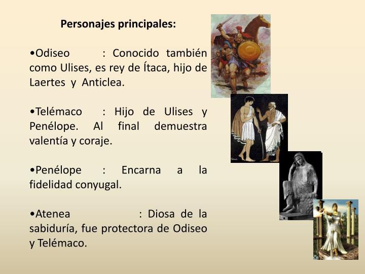 Personajes principales: