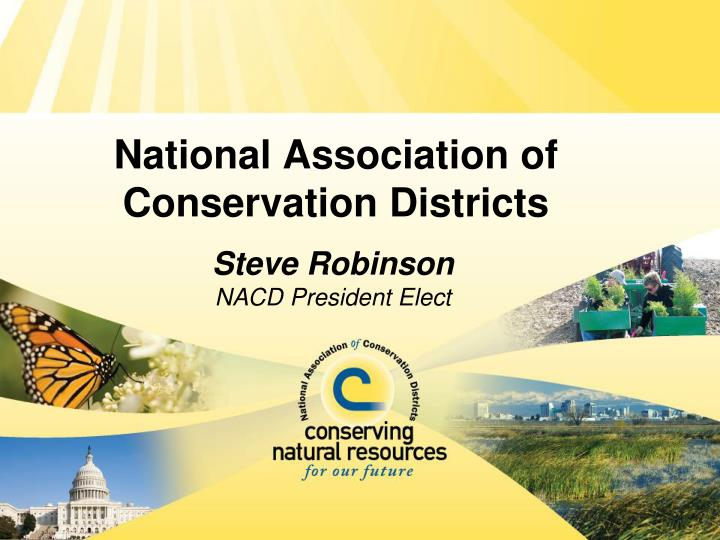 national association of conservation districts n.