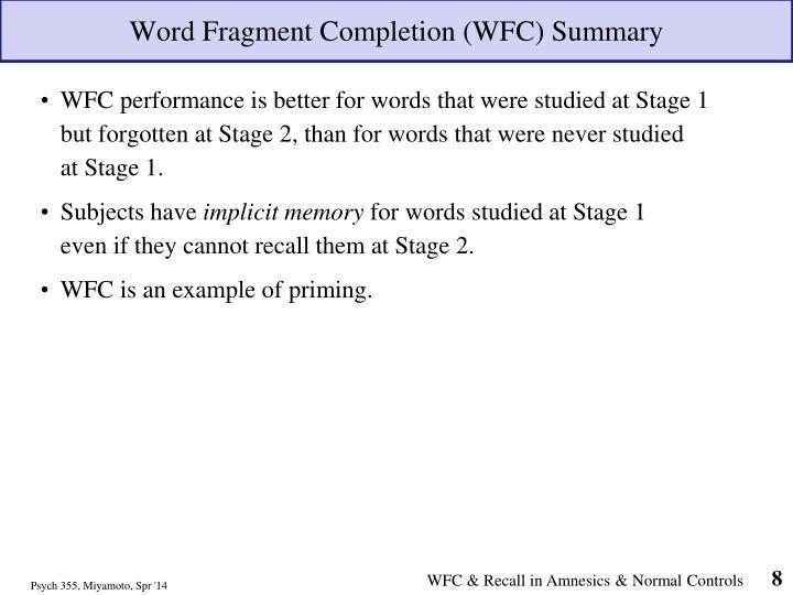 Ppt Explicit Versus Implicit Memory Then Study Habits That Promote