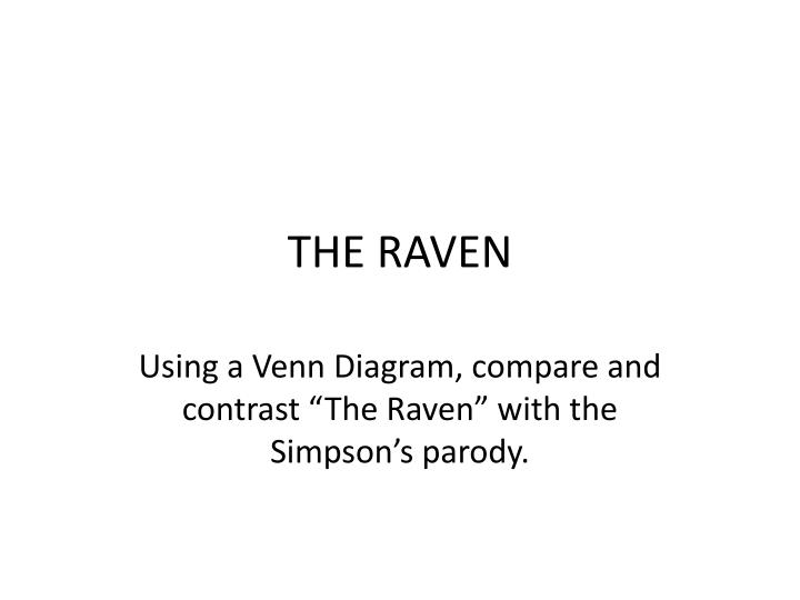 the raven n.