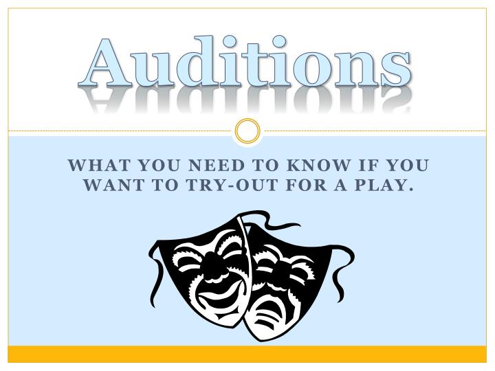 auditions n.
