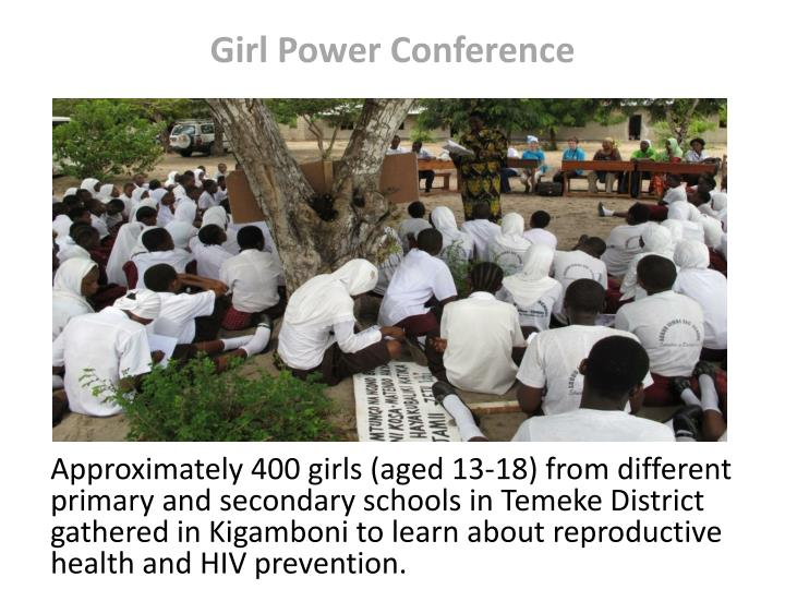 Girl power conference