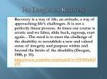 pat deegan on recovery