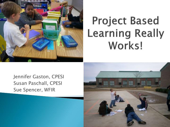 project based learning really works n.