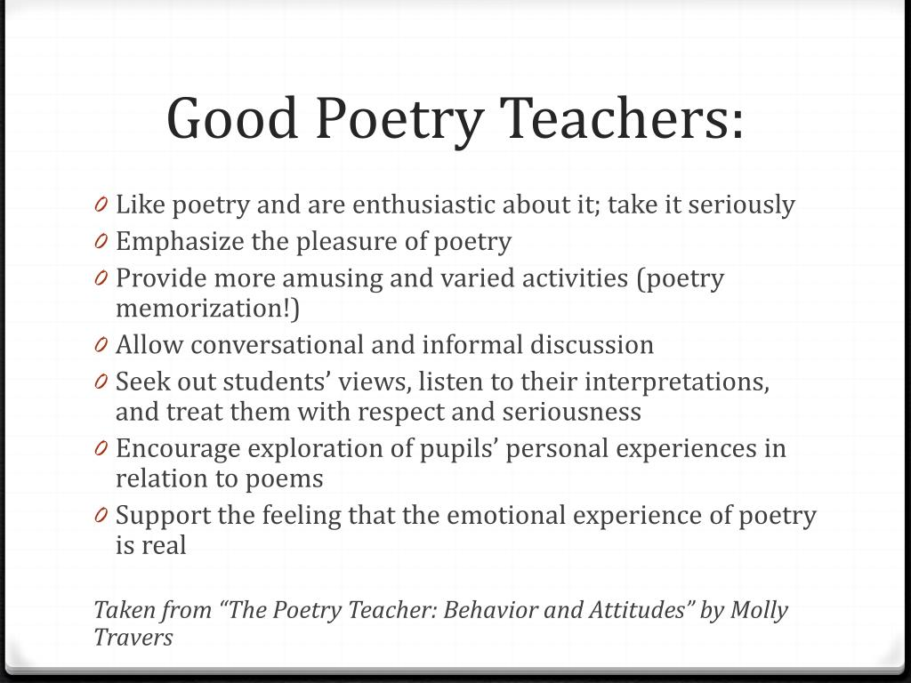 Ppt Poetry Memorization Powerpoint Presentation Free