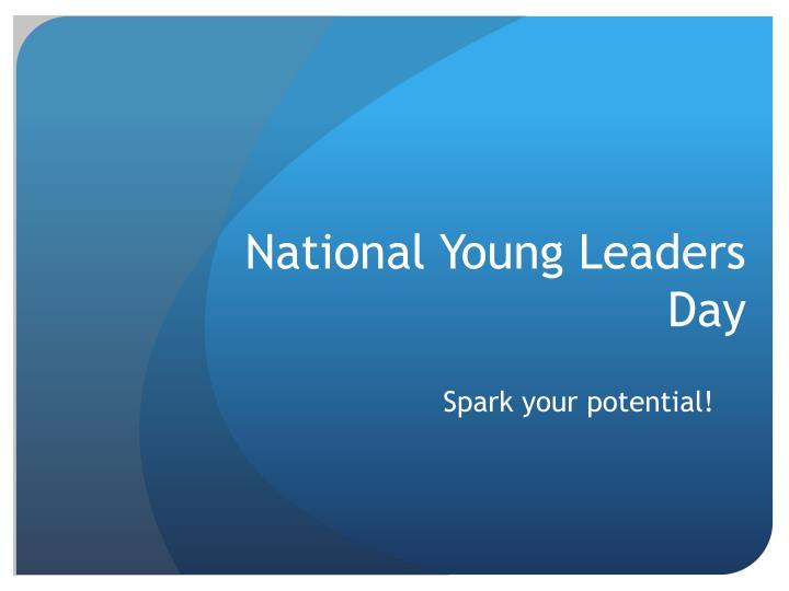 national young leaders day n.