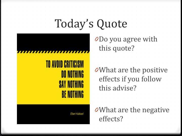 Today s quote1