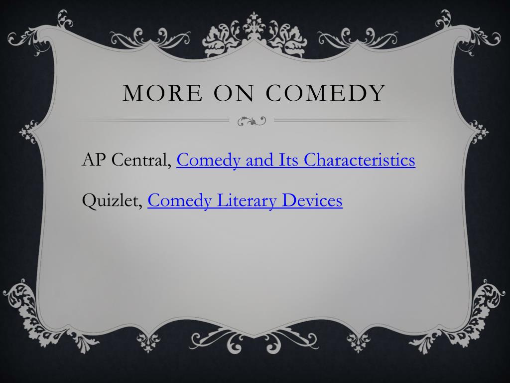 Ppt Comedy A Time For Laughter Powerpoint Presentation Free