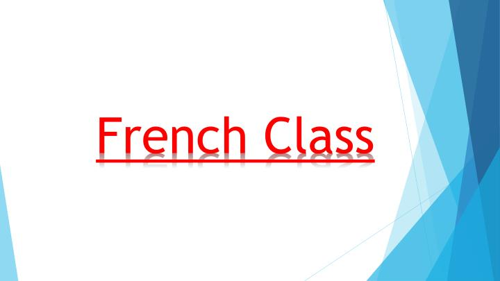 french class n.