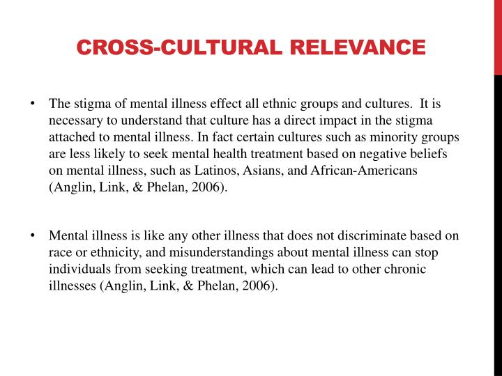 Ppt The Impact Of Stigma On Mental Illness A Historical Thesis