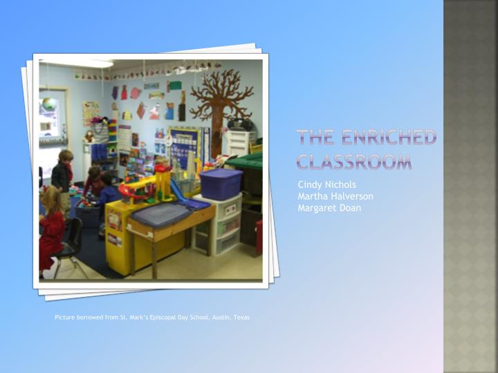 the enriched classroom n.