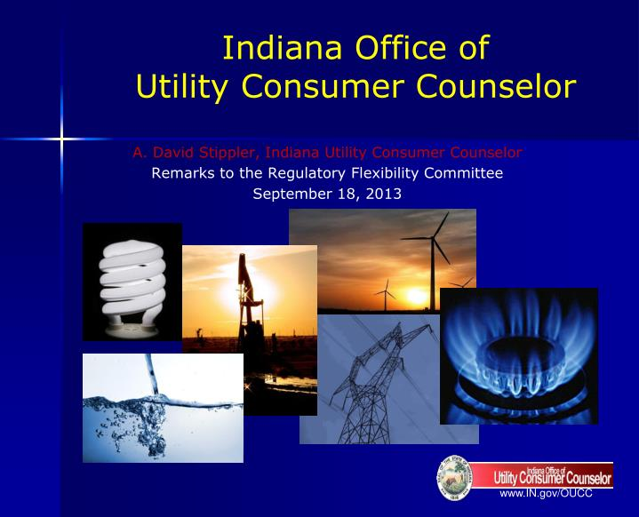 indiana office of utility consumer counselor n.