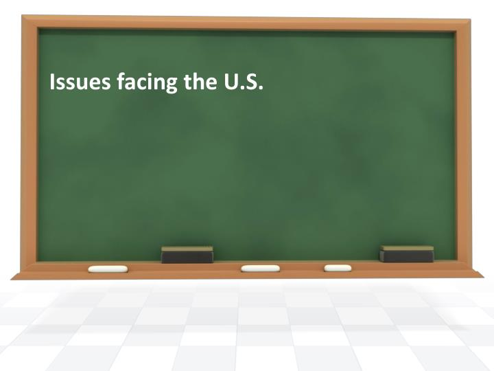 issues facing the u s n.