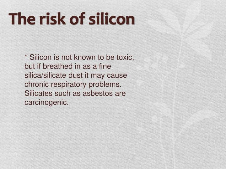The risk of