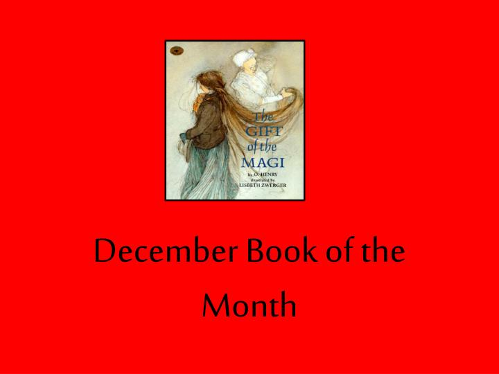december book of the month n.