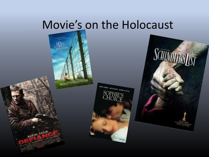 movie s on the holocaust n.