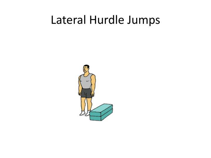 Lateral Hurdle Jumps