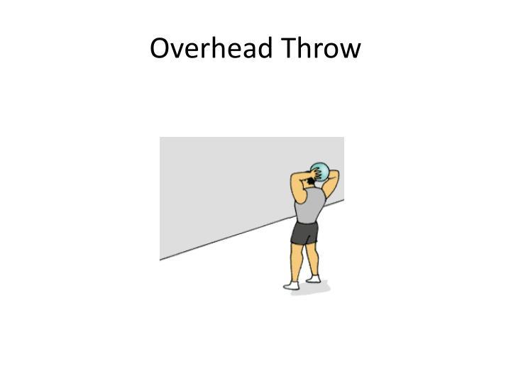 Overhead Throw