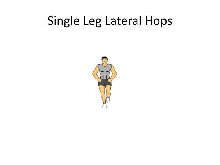 Single Leg Lateral Hops