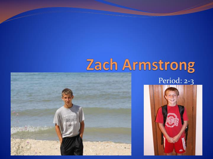 zach armstrong n.