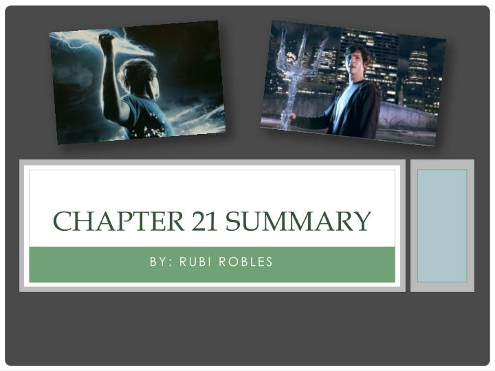 chapter 21 summary n.