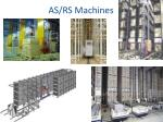 as rs machines