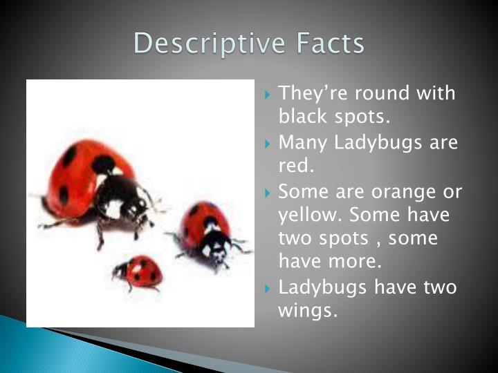Descriptive facts
