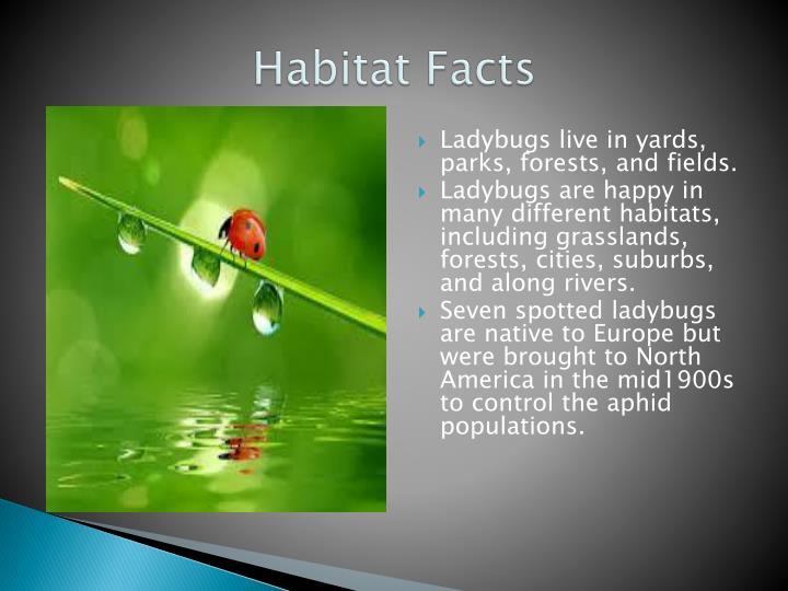 Habitat facts