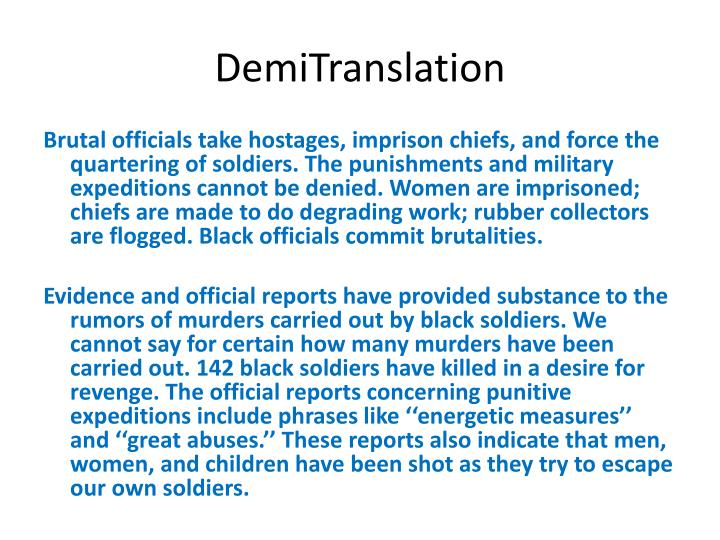 DemiTranslation