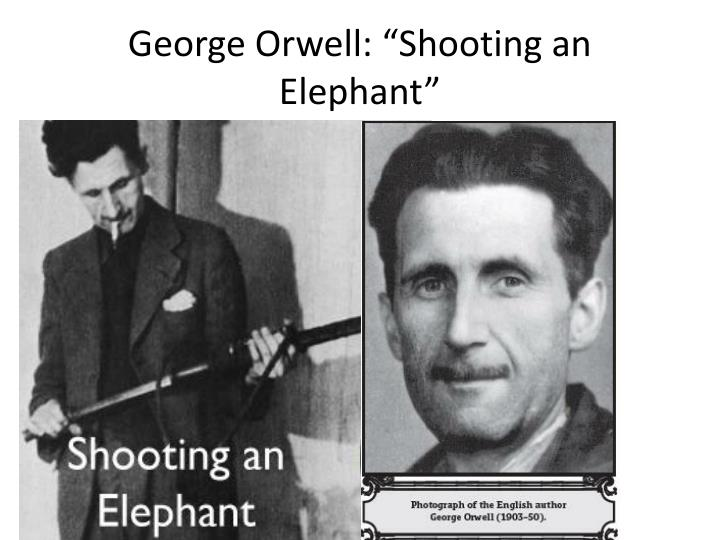 "George Orwell: ""Shooting an Elephant"""