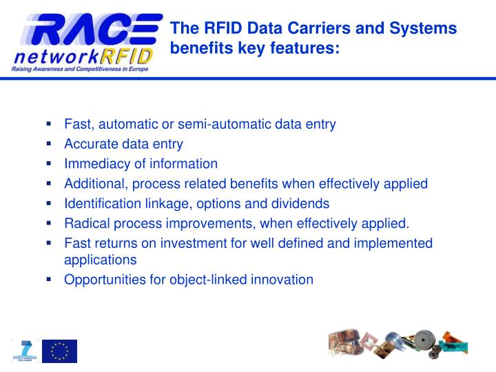 The RFID Data Carriers and Systems
