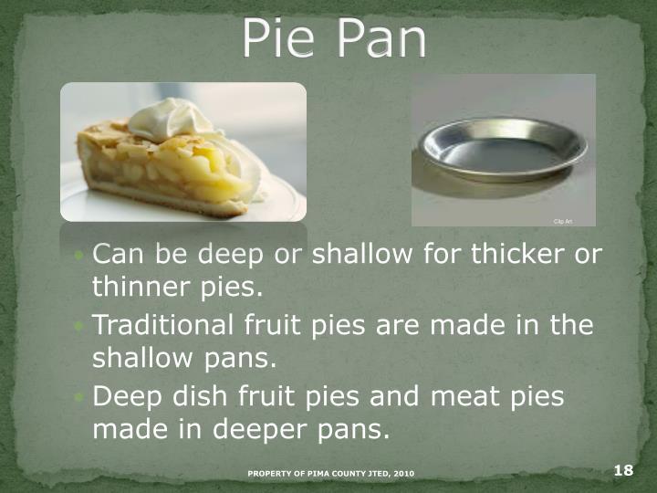 Pie Pan