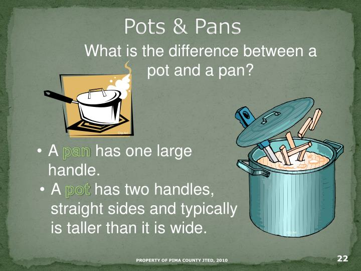 Pots & Pans