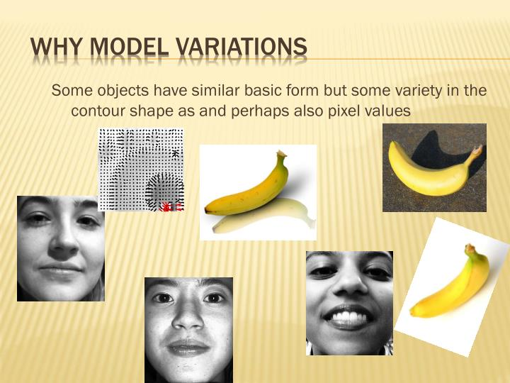 Why model variations