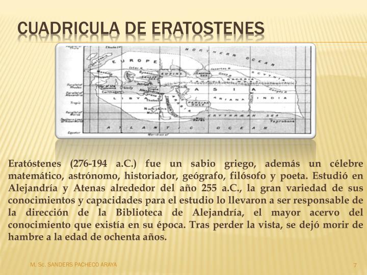 M. Sc. SANDERS PACHECO ARAYA