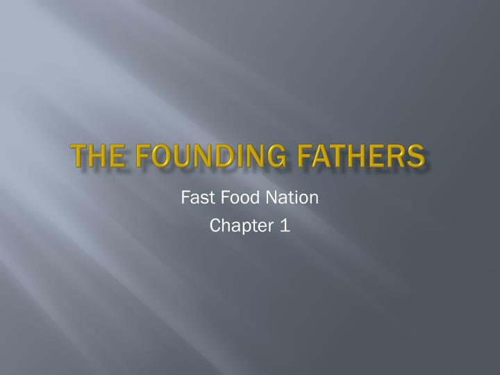 the founding fathers n.