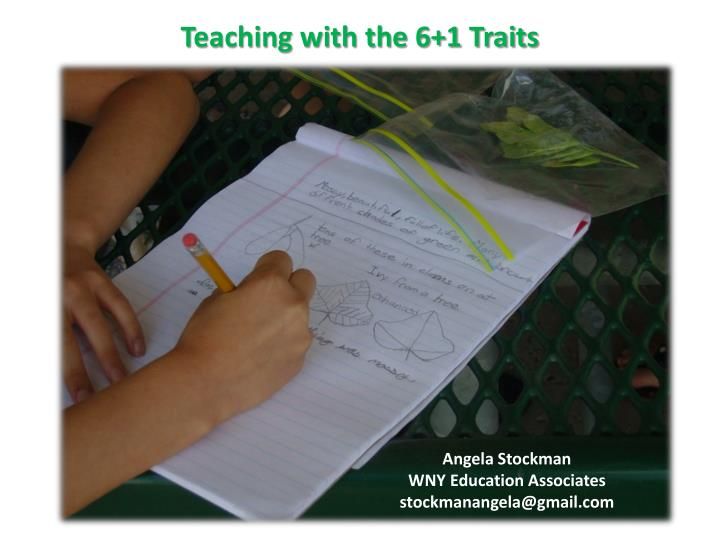 teaching with the 6 1 traits n.