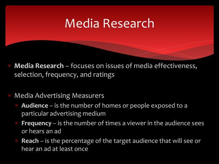 Media Research