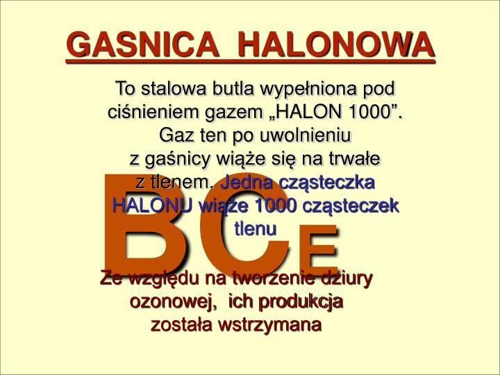 GASNICA  HALONOWA