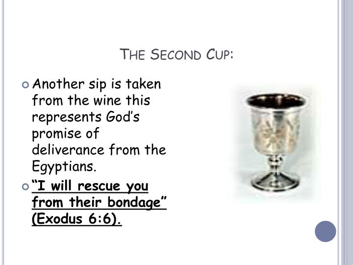 The Second Cup: