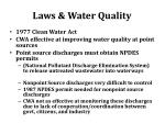 laws water quality2