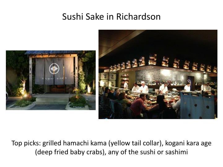 Sushi Sake in Richardson
