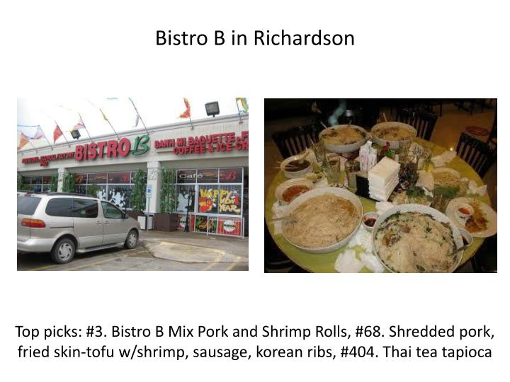 Bistro B in Richardson