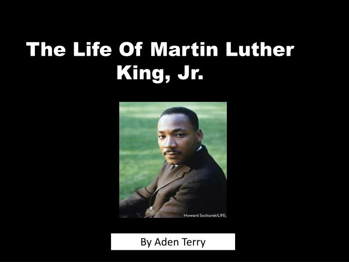 the life of martin luther king jr n.
