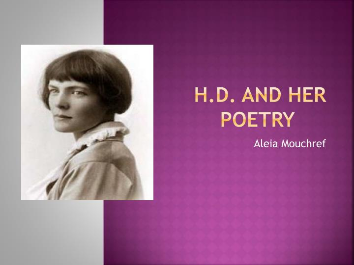 h d and h er poetry n.