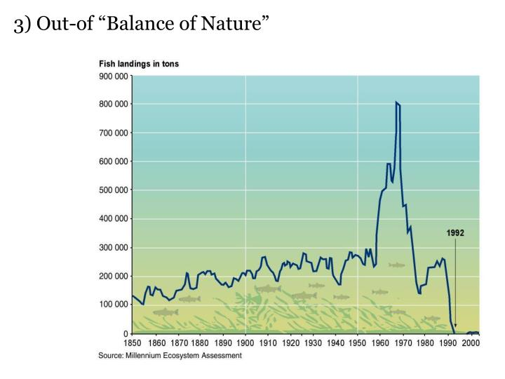"3) Out-of ""Balance of Nature"""