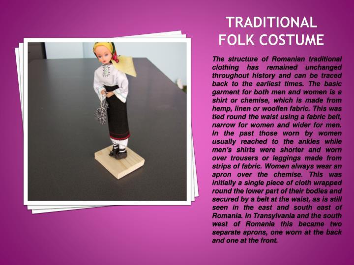 Traditional folk costume