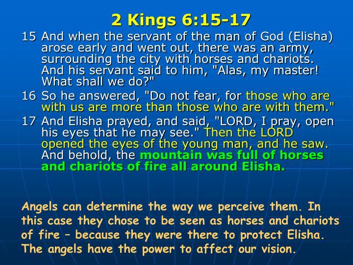 2 Kings 6:15-17