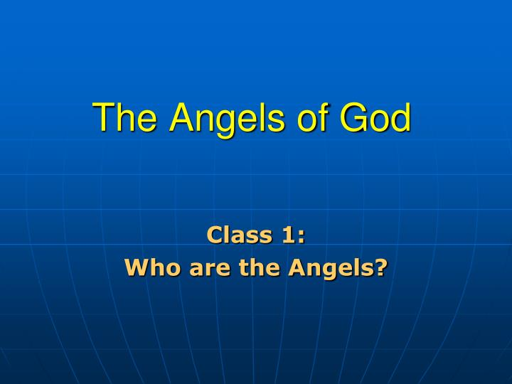 the angels of god n.