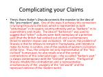 complicating your claims1